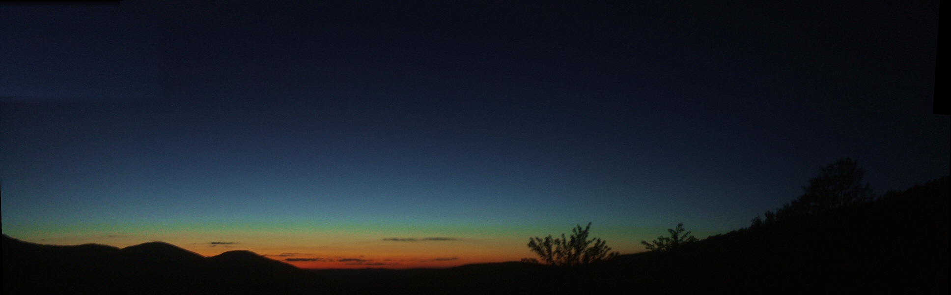Mountain sunset 1 • back to panorama list • roxbury mountain